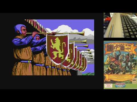Defender of the Crown c64 Juegos Epicos