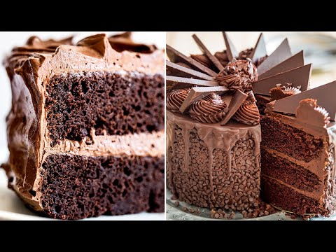 2-Minutes Of Delicious and Yummy Chocolate Desserts Everyone Must Try | Chocolate Cake Decoration