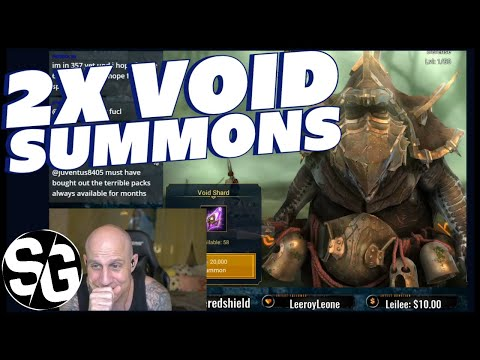 RAID SHADOW LEGENDS | RIDICULOUS VOID SUMMONS | 2X VOID SUMMONS, LEGENDARY RAIN!