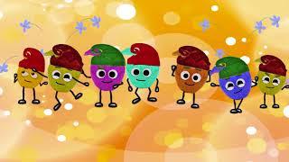 Yedi Cüceler Çocuk Şarkısı / Çizgi Film / Elma Tv