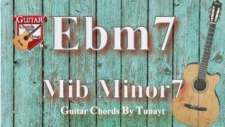 ★ Mib7 minor | How to play Ebm7 chord on guitar | Eb minor 7 Akoru Gitarda Nasıl Basılır ?
