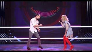 Rucsandra Iliescu & Vlad Constantin – Can't Stop The Feeling LIVE   Battle   Vocea Romaniei 2016