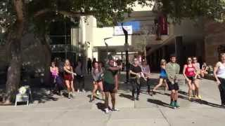 UA Dance Advanced Jazz Class Flash Mob