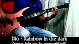 Dio -Rainbow in the dark (Bass cover) Sub. Lyrics