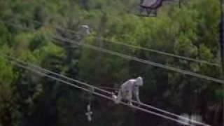 Eletricista de rede de alta tensão