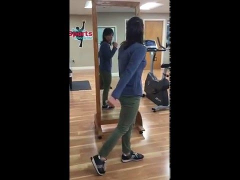 Gluteal activation exercise