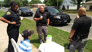 Minnesota Cops Buy Lemonade From 9-Year-Old Boy Who Says His Money Was Stolen