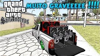 MC Livinho - Cheia de Marra + Grave  - GTA BRASIL