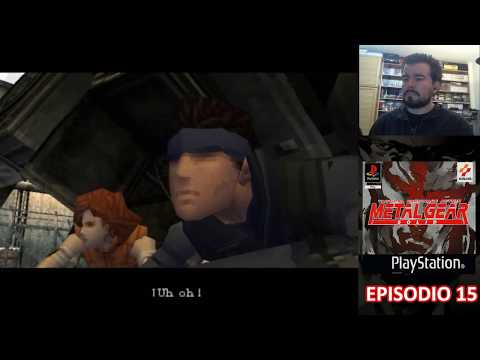 METAL GEAR SOLID (PS1) - Episodio 15 FINAL: Ruta de Escape || Gameplay Español