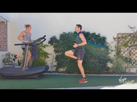 37 min 5000 step challenge with Richard from Virgin Active | Vitality at Home