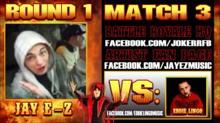 "Jay E-Z - ""Let The Pen Go"" (Eddie Lingo Diss) The Jokerr's IDYTDM Battle Royale 2012"