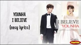 Younha  l Believe  (letra)