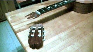 Reparar Guitarra Española / Repair Spanish Guitar