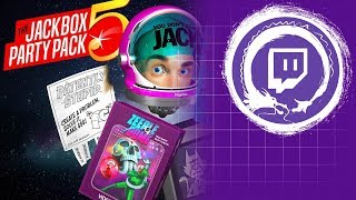 Jackbox Party Pack 5 | Casual Friday | Stream Four Star