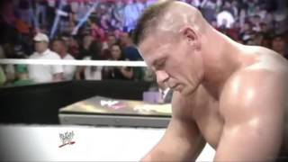 WWE - John Cena & Rock 2013 Wrestlemania promo Ad as shown on RAW