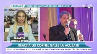Reacţia lui Cornel Galeş la acuzaţii