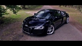 Edit ! Syberian Beast meets Mr.Moore - Wien - Audi R8 V8 GTR TWIN SUPERCHARGED