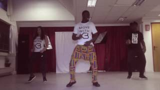 Runtown - Mad Over You (Dance Video) || MOVEWITHKB #ProjectUnite