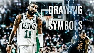 Kyrie Irving X NBA YOUNGBOY - DRAWING SYMBOLS