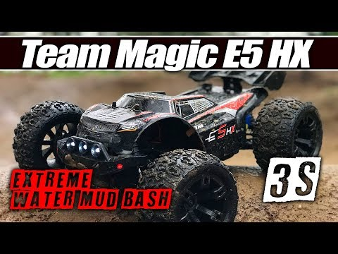 EXTREME TEST! - Team Magic E5 HX RC Truck - WATERPROOF, 15ft BIKE JUMPS, RC TRACK - Full Review