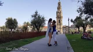 Alicia y  Lidiela (Málaga). Kizomba en Oporto, Portugal.