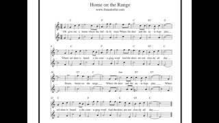 Home On The Range - Play Clarinet -Duo