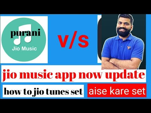 Download thumbnail for How to set jio tune in jio Saavn app