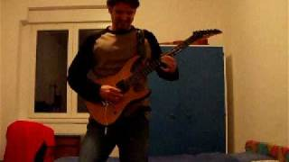 "Megadeth ""Foreclosure Of A Dream"" guitar solo cover"