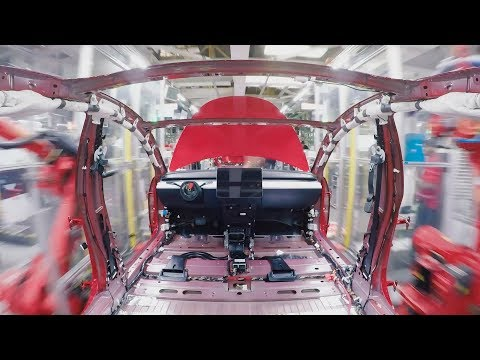 How Model 3 gets made