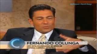 """Fernando Colunga hablando de Gaby Spanic """"¡Linda Mujer!"""""""