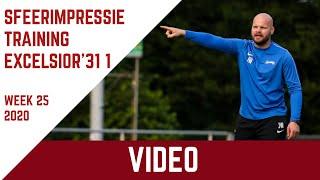 Screenshot van video Sfeerimpressie training Excelsior'31 1 (week 25-2020)