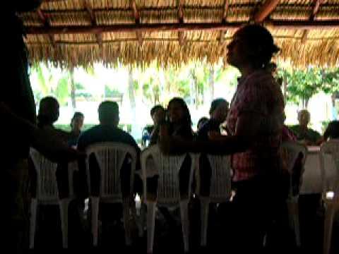 Gringos dancing in Nicaragua
