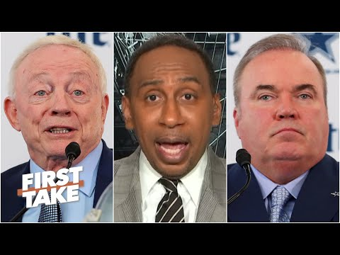 'Jerry Jones needs to replace' Mike McCarthy - Stephen A. | First Take