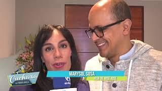 Marysol Sosa confia en que José José conozca a su nieta que viene en camino I LA CUCHARA