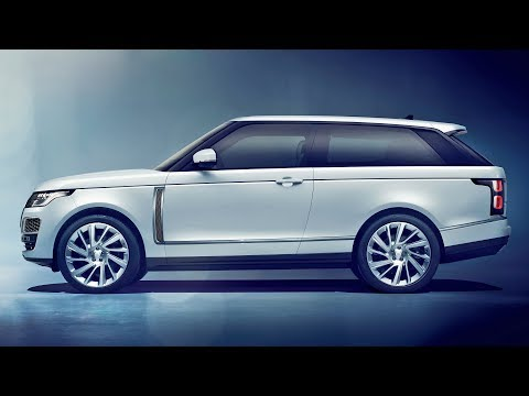 Range Rover SV Coupe (2019) 2-Door Luxury SUV