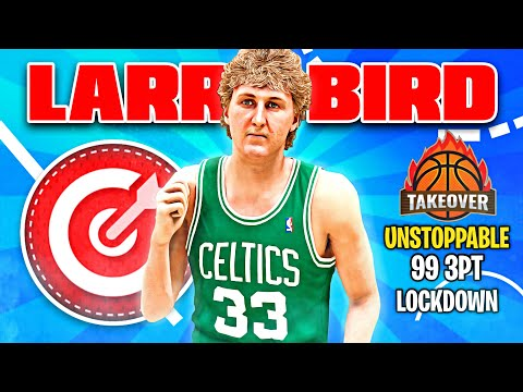 BEST LARRY BIRD BUILD ON NBA 2K21 CURRENT GEN! BEST SHARPSHOOTING FACILITATOR SMALL FORWARD BUILD!