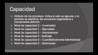 Modelo de Madurez CMMI