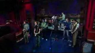 Broken Social Scene on Letterman