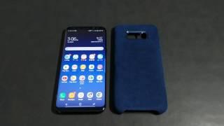 OFFICIAL Samsung Galaxy S8+ ALCANTARA COVER | Quick Review