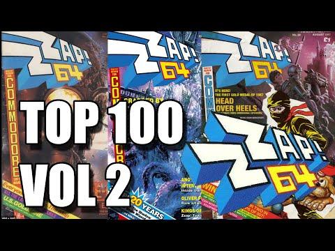 LUNES COMMODORE TOP 100 ZZAP 64 VOL 2