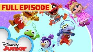Sir Kermit the Brave / Animal Fly Airplane | Full Episode | Muppet Babies | Disney Junior width=