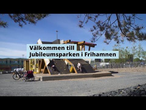 Jubileumsparken - En mötesplats för alla där staden möter vattnet