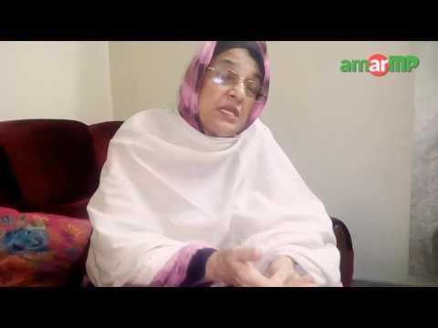 REFAT AMIN -রিফাত আমিন MP briefed her development works at amarMP.com