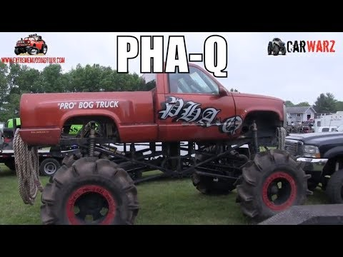 PHA-Q Mega Truck At Perkins Spring Mud Bog