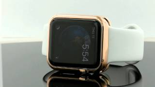 Apple Watch Rose Gold slip on cover Case 42mm