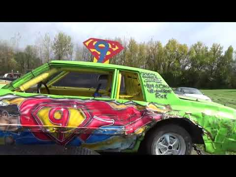 Halloween Carnival of Carnage Bump'n' Grind and Demolition Derby 2018 Prelude(Bay City,Michigan)
