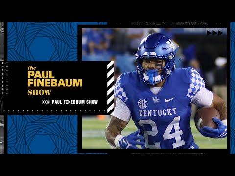 Kentucky running back Chris Rodriguez Jr. joins The Paul Finebaum Show