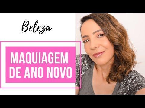 Maquiagem Fácil para o Ano Novo 2019 | Dicas da Fê