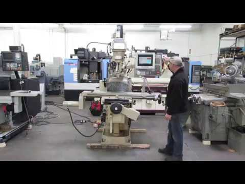 Milltronics Partner 00 3-Axis CNC Knee Mill In ON line Auction At Machinesused.com