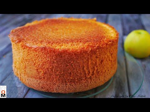 Очень Пышный  и Высокий БИСКВИТ   Sponge Cake Recipe